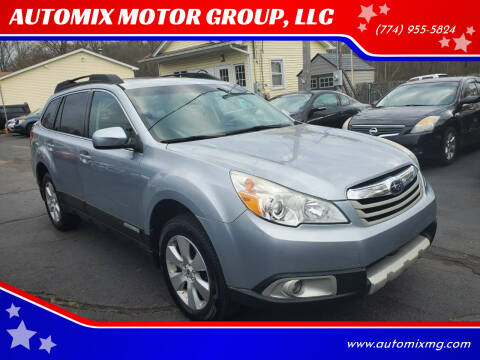 2012 Subaru Outback for sale at AUTOMIX MOTOR GROUP, LLC in Swansea MA