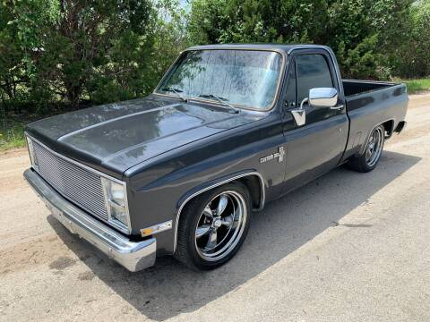 1984 Chevrolet C/K 10 Series for sale at TROPHY MOTORS in New Braunfels TX