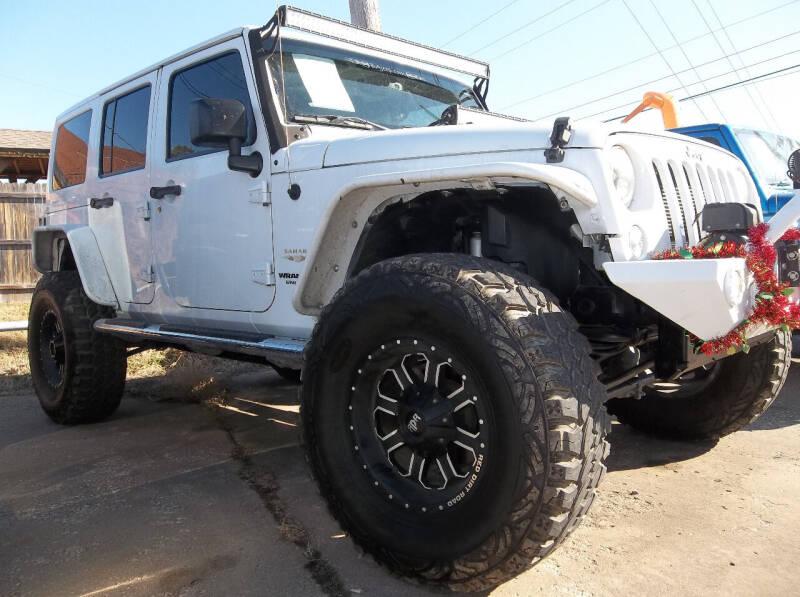 2015 Jeep Wrangler Unlimited for sale at Broken Arrow Motor Co in Broken Arrow OK