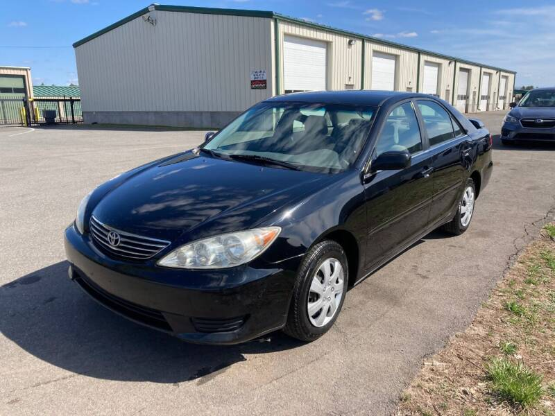 2006 Toyota Camry for sale at ENFIELD STREET AUTO SALES in Enfield CT