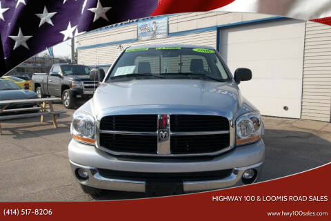 2006 Dodge Ram Pickup 1500 for sale at Highway 100 & Loomis Road Sales in Franklin WI