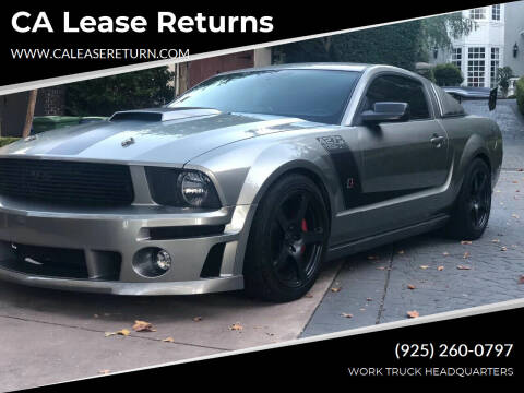 2008 Ford Mustang for sale at CA Lease Returns in Livermore CA