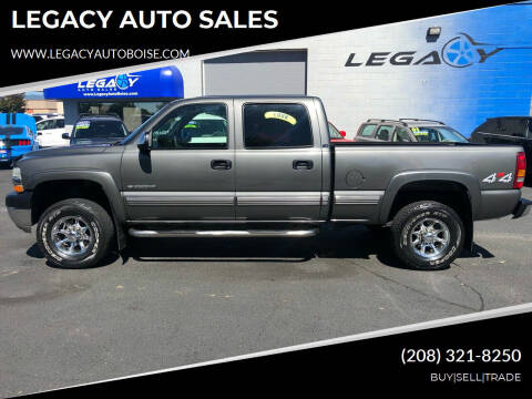 2002 Chevrolet Silverado 2500HD for sale at LEGACY AUTO SALES in Boise ID