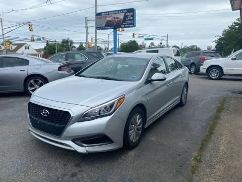 2016 Hyundai Sonata Hybrid for sale at Union Avenue Auto Sales in Hazlet NJ