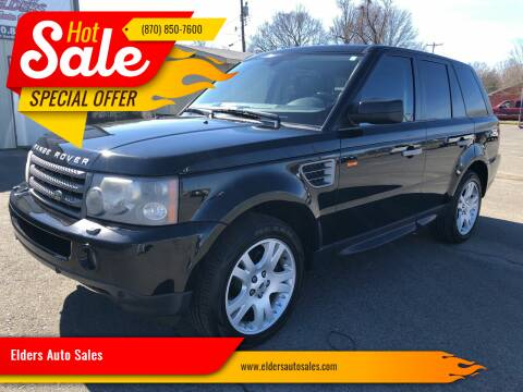 2006 Land Rover Range Rover Sport for sale at Elders Auto Sales in Pine Bluff AR
