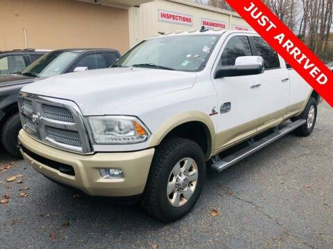2015 RAM Ram Pickup 2500 for sale at Brandon Reeves Auto World in Monroe NC