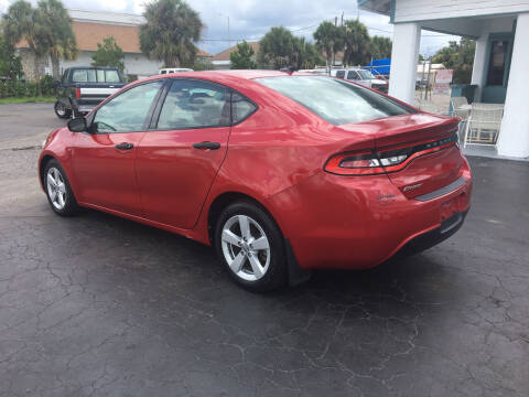 2013 Dodge Dart for sale at CAR-RIGHT AUTO SALES INC in Naples FL