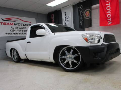 2014 Toyota Tacoma for sale at TEAM MOTORS LLC in East Dundee IL