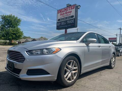 2013 Ford Fusion for sale at Unlimited Auto Group in West Chester OH