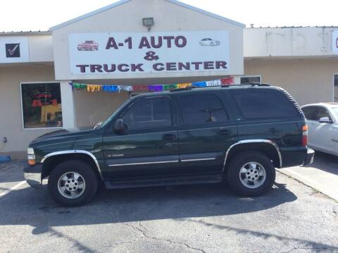 2002 Chevrolet Tahoe for sale at A-1 AUTO AND TRUCK CENTER in Memphis TN