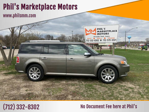 2012 Ford Flex for sale at Phil's Marketplace Motors in Arnolds Park IA