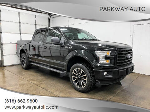 2015 Ford F-150 for sale at PARKWAY AUTO in Hudsonville MI