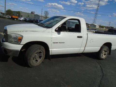 2007 Dodge Ram Pickup 1500 for sale at SWENSON MOTORS in Gaylord MN