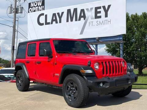 2018 Jeep Wrangler Unlimited for sale at Clay Maxey Fort Smith in Fort Smith AR