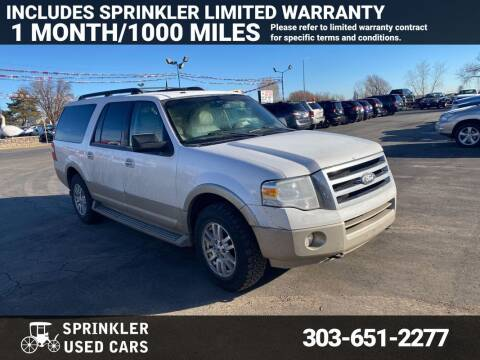 2010 Ford Expedition EL for sale at Sprinkler Used Cars in Longmont CO