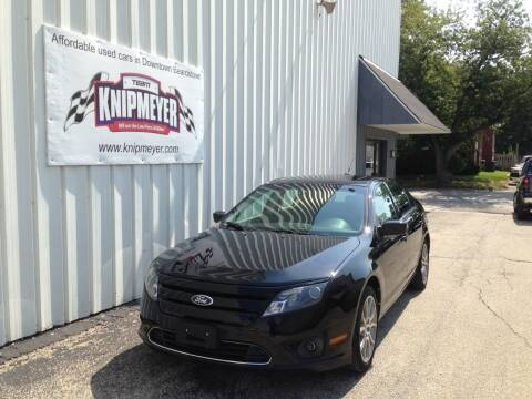 2012 Ford Fusion for sale at Team Knipmeyer in Beardstown IL