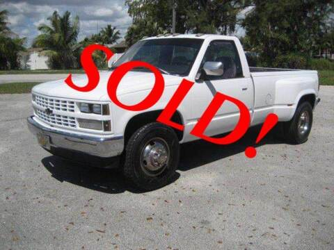 1989 Chevrolet C/K 3500 Series for sale at RPM Motors LLC in West Palm Beach FL