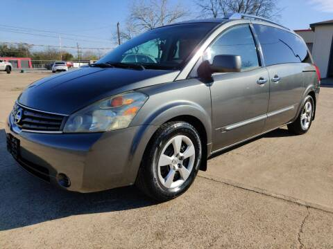2008 Nissan Quest for sale at AI MOTORS LLC in Killeen TX