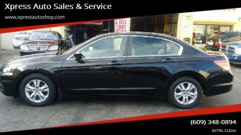 2012 Honda Accord for sale at Xpress Auto Sales & Service in Atlantic City NJ
