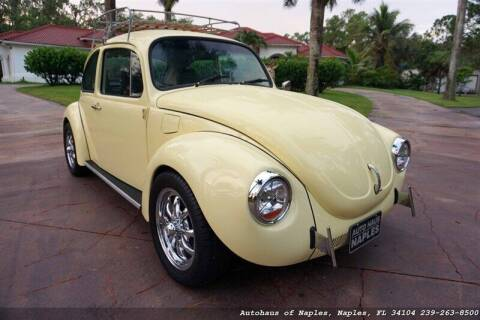 1972 Volkswagen Beetle for sale at Autohaus of Naples in Naples FL
