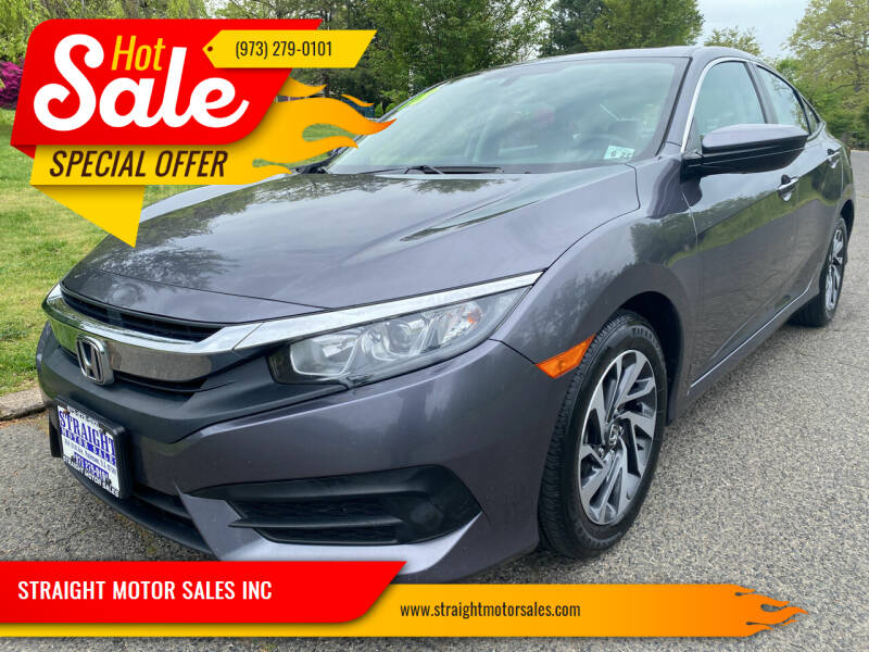 2018 Honda Civic for sale at STRAIGHT MOTOR SALES INC in Paterson NJ