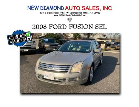 2008 Ford Fusion for sale at New Diamond Auto Sales, INC in West Collingswood NJ