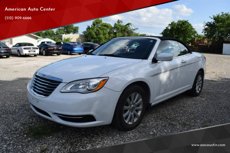 2013 Chrysler 200 Convertible for sale at American Auto Center in Austin TX