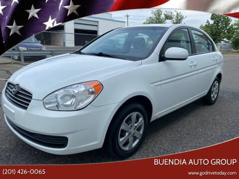 2011 Hyundai Accent for sale at BUENDIA AUTO GROUP in Hasbrouck Heights NJ