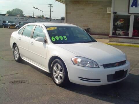 2012 Chevrolet Impala for sale at G & L Auto Sales Inc in Roseville MI