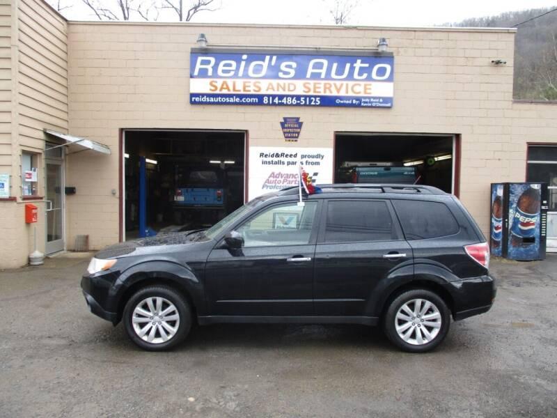 2012 Subaru Forester for sale at Reid's Auto Sales & Service in Emporium PA