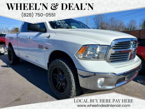 2016 RAM Ram Pickup 1500 for sale at Wheel'n & Deal'n in Lenoir NC