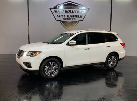 2019 Nissan Pathfinder for sale at Noel Daniels Motor Company in Ridgeland MS