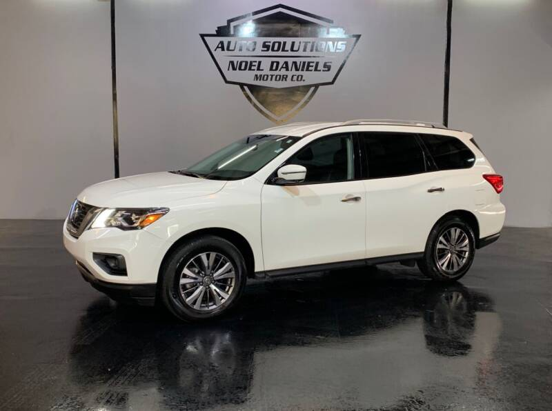 2019 Nissan Pathfinder for sale at Noel Daniels Motor Company in Brandon MS