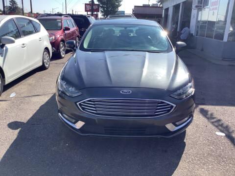 2017 Ford Fusion Hybrid for sale at GPS Motors in Denver CO