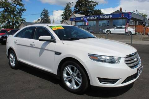 2016 Ford Taurus for sale at All American Motors in Tacoma WA