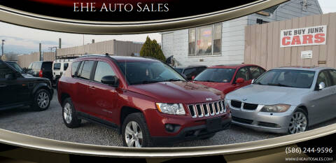 2011 Jeep Compass for sale at EHE Auto Sales in Marine City MI