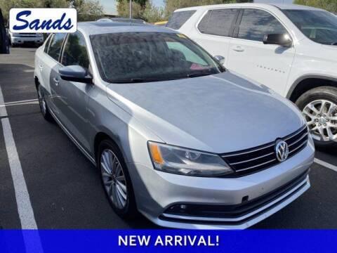 2015 Volkswagen Jetta for sale at Sands Chevrolet in Surprise AZ