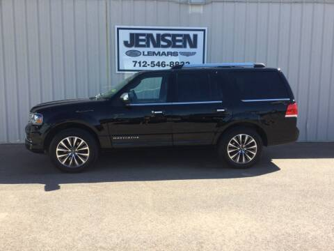2017 Lincoln Navigator for sale at Jensen's Dealerships in Sioux City IA