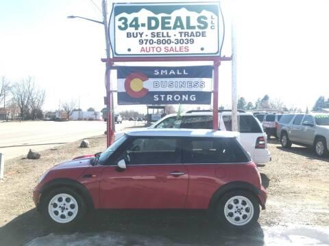 2002 MINI Cooper for sale at 34 Deals LLC in Loveland CO