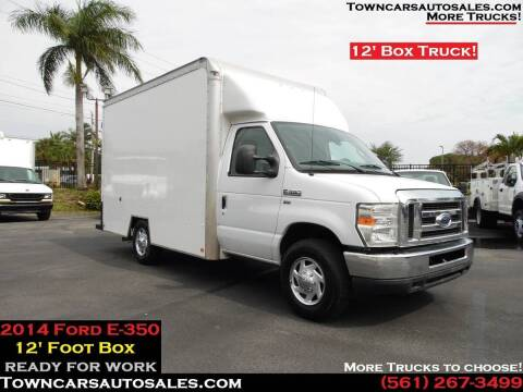 2014 Ford E-350 for sale at Town Cars Auto Sales in West Palm Beach FL