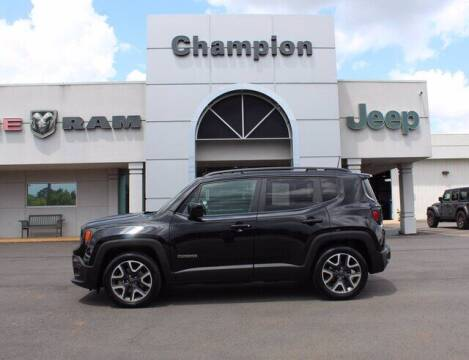 2018 Jeep Renegade for sale at Champion Chevrolet in Athens AL