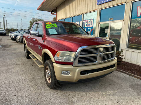 2012 RAM Ram Pickup 2500 for sale at Lee Auto Group Tampa in Tampa FL