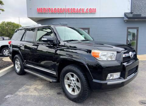 2013 Toyota 4Runner for sale at Heritage Automotive Sales in Columbus in Columbus IN