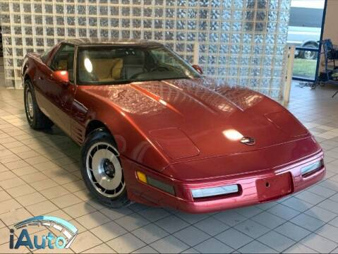 1991 Chevrolet Corvette for sale at iAuto in Cincinnati OH