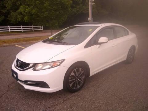 2013 Honda Civic for sale at Washington Street Auto Sales in Canton MA
