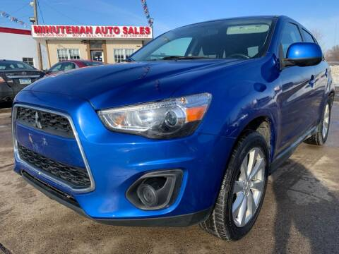 2015 Mitsubishi Outlander Sport for sale at Minuteman Auto Sales in Saint Paul MN