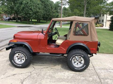1977 Jeep CJ-5 for sale at Merrimack Motors in Lawrence MA