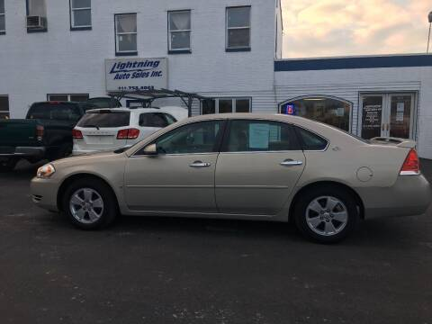 2008 Chevrolet Impala for sale at Lightning Auto Sales in Springfield IL