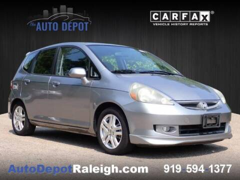 2007 Honda Fit for sale at The Auto Depot in Raleigh NC