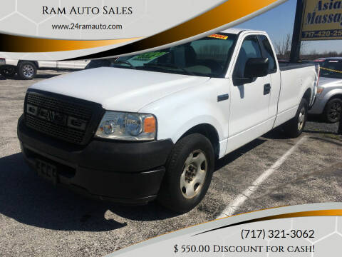 2008 Ford F-150 for sale at Ram Auto Sales in Gettysburg PA